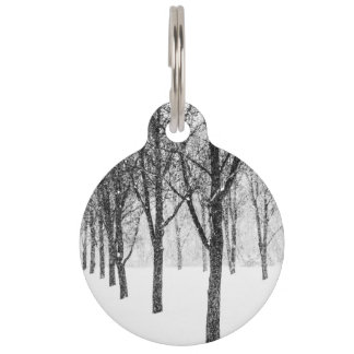 as I side with trees Pet Tag