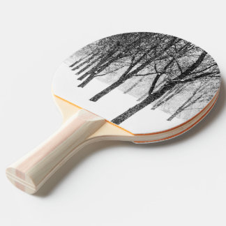 as I side with trees Ping Pong Paddle