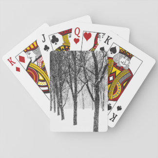 as I side with trees Playing Cards