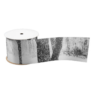 as I side with trees Satin Ribbon