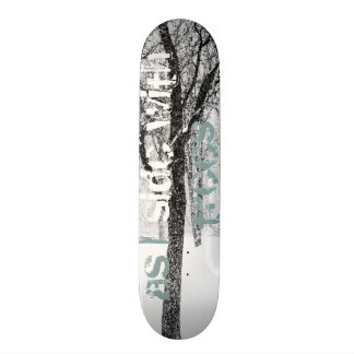 as I side with trees Skate Board