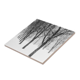 as I side with trees Tile