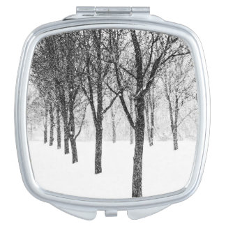 as I side with trees Travel Mirrors