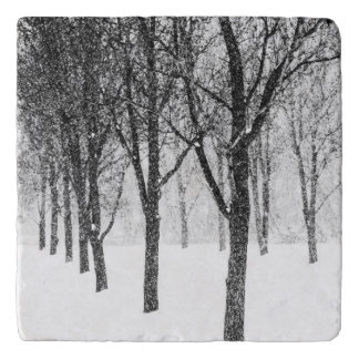 as I side with trees Trivet