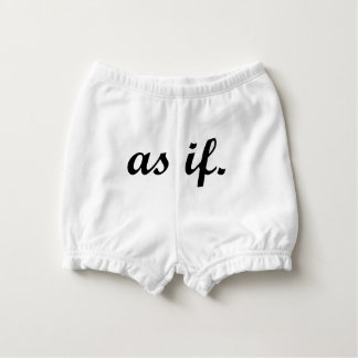 As If Diaper Cover