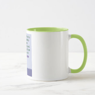 """As is"" cat mug for cat lovers"