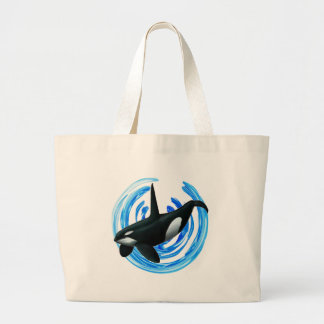 AS IT DESCENDS LARGE TOTE BAG