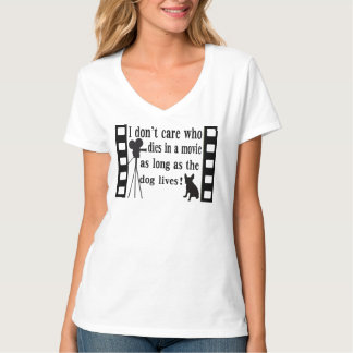 As Long As The Dog Lives!  T-shirt