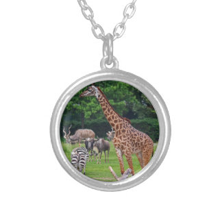 As Long As We're Together Silver Plated Necklace
