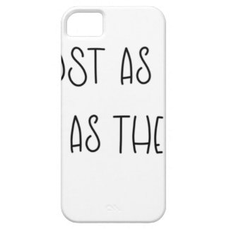 AS LOST AS ALICE AS MAD AS THE HATTER iPhone 5 CASE