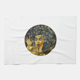 AS MEDUSA IS KITCHEN TOWEL