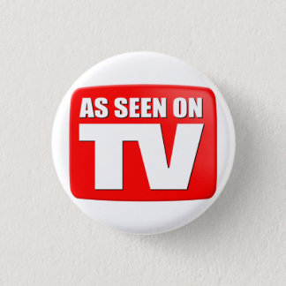 As Seen On TV 1 Inch Round Button