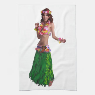 AS SHE MOVES KITCHEN TOWEL