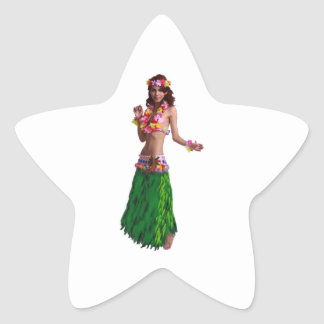 AS SHE MOVES STAR STICKER