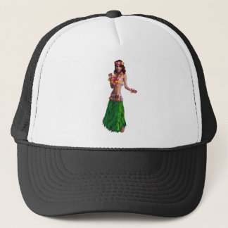 AS SHE MOVES TRUCKER HAT