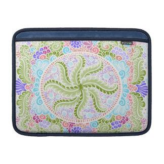 As Spring blooms , Kawaii, spring, flowers MacBook Sleeve