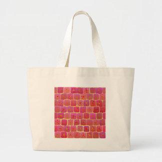As Strong As A Brick Wall Large Tote Bag