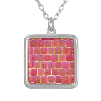 As Strong As A Brick Wall Silver Plated Necklace