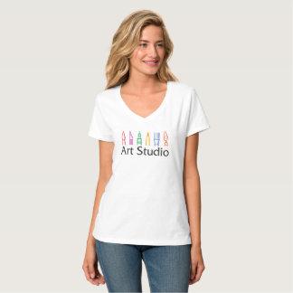 AS t-shirt, women, v-neck T-Shirt