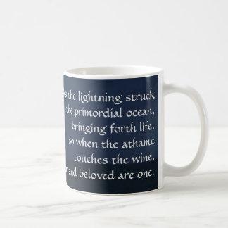 """As the lightning struck the primordial ocean..."" Coffee Mug"