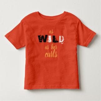 As Wild As Her Curls Shirt