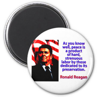 As You Know Well - Ronald Reagan Magnet