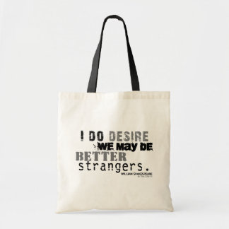 As You Like It Insult (B&W) Tote Bag