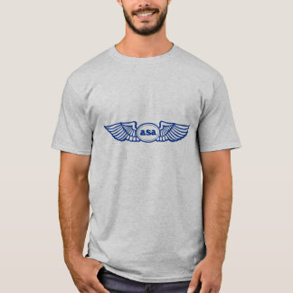 ASA Blue Wings Logo T-Shirt