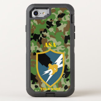 ASA  (In GOD We Trust, all others we Monitor) OtterBox Defender iPhone 7 Case