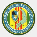 ASA Vietnam Veteran Sticker
