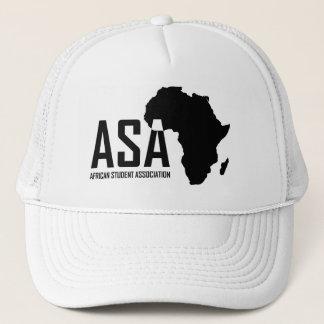 ASA White Trucker Hat