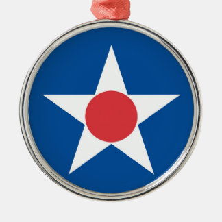 Asahikawa city flag Hokkaido prefecture japan symb Metal Ornament