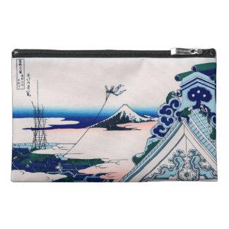 Asakusa Temple 北斎 Hokusai Japanese Fine Art Travel Accessory Bag