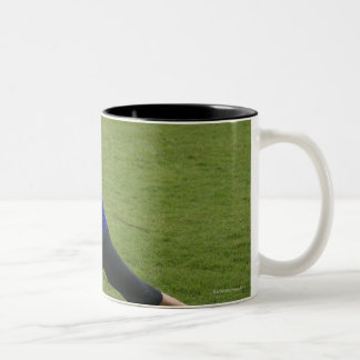 Asana yoga Two-Tone coffee mug