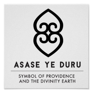 ASASE YE DURU | Providence and the Divinity Earth Poster