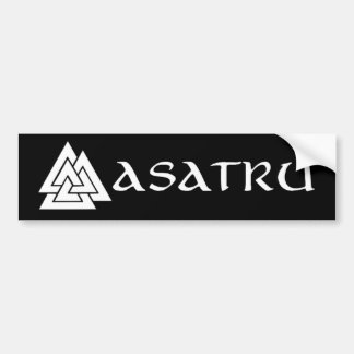 Asatru bumper sticker