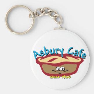 Asbury Cafe Keychain