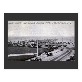 Asbury Park, New Jersey 1910 Vintage Postcard