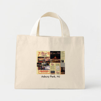 Asbury Park, New Jersey - Palace Park, NJ Mini Tote Bag