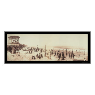 Asbury Park, NJ Photo 1902 Poster