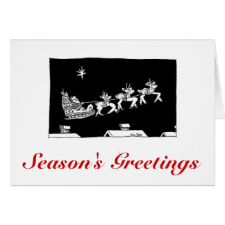 ASC Card Christmas Sleigh Ride