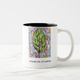 "Ascalon Studios' ""The Tree of Life"" Two-Tone Coffee Mug"