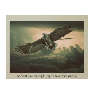 Ascend High Wood Wall Decor