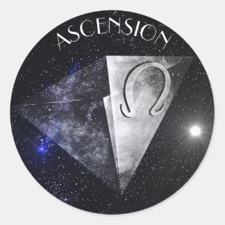 Ascension Classic Round Sticker