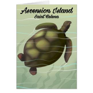Ascension Island Sea Turtle Card