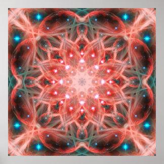 Ascension Mandala Poster