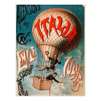 Ascension of Cav. Emile Julhes... Postcard