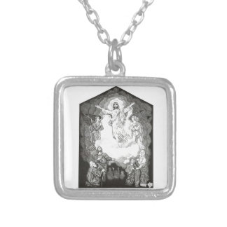 Ascension Silver Plated Necklace