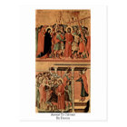 Ascent To Calvary By Duccio Postcard