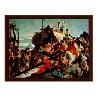 Ascent To Calvary, The Cross Of Christ Postcard